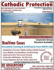 Cathodic Protection Training (Intermediate & Professional Level)