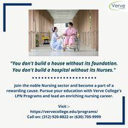 Join the best nursing schools in Illinois - Verve College