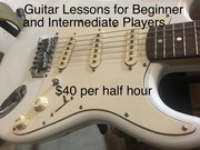 Guitar Lessons for Beginner and Intermediate Guitar Players